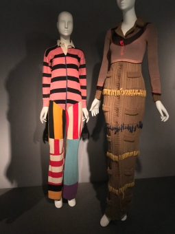 Multi-Colored, Striped Jumpsuit - Betsey Johnson, 1966