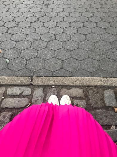 Pink Skirt - Sept 10, 2018 - Manic Monday - Part 2 - Fri-Yay!