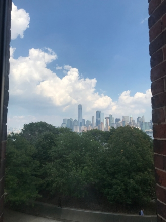 View from Ellis Island - Shes Beauty and Shes Grace - Sept 6, 2018